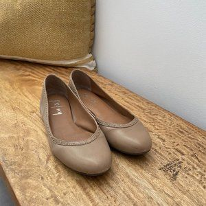 ☀️2 For $30☀️ Anthro: FSNY   Nude Ballet Flat